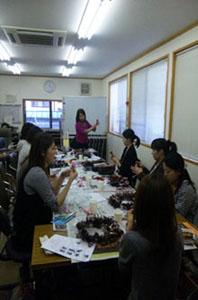 フラワーアレンジメント教室 フラワー資格 フラワーアートクリエイター協会