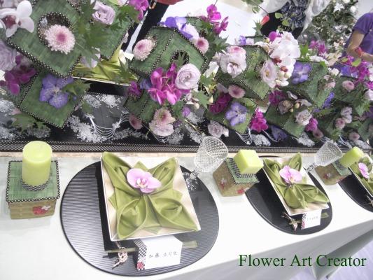 ウェディング装花 和モダン