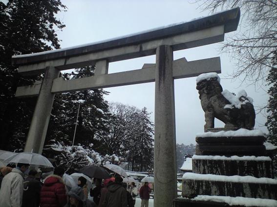 20090102多賀大社 鳥居