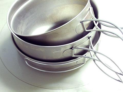 EPI チタン3食器
