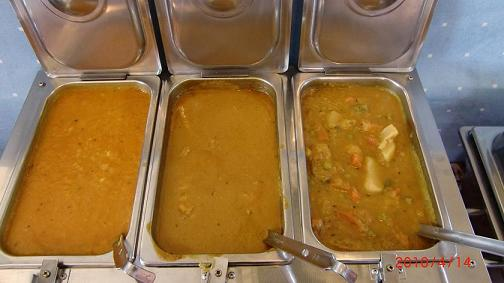 3 kind of curries