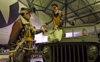 RAF博物館で撮影したB-17 のクルー(人形)