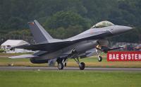 ベルギー空軍のF-16