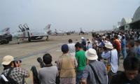 2009年 百里基地航空祭 9時すぎは混雑
