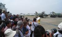 2009年 百里基地航空祭 脚立が欲しい!