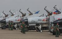 2009年 百里航空祭 F-4列線