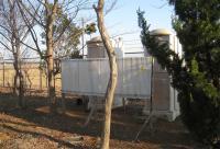 百里基地 平和公園の仮設トイレ