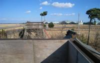 平和公園の展望台から望む