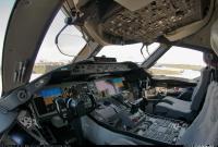 787のコクピット
