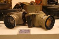 軍用カメラも展示