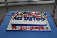 2011 TATTOOのケーキ