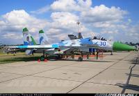 Su-27って機体サイズが大型なので撮影向き。