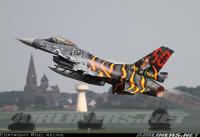 ベルギー空軍のタイガー50周年記念