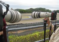 2011 MotoGP 撮影状況はこんな感じ。