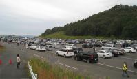11motoGP 駐車場の風景