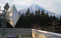 富士山レーダー館から見える富士山