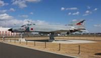 茨城空港のF-4EJ 改 展示