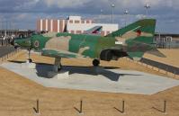 茨城空港のRF-4EJ 展示