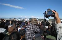 2010年入間基地祭の混雑風景