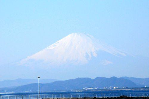 海辺の富士