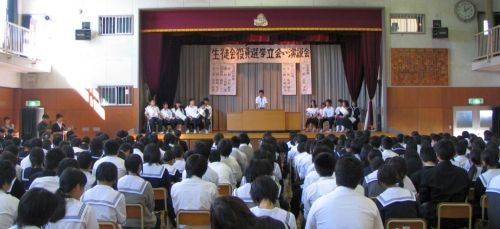 生徒会選挙0