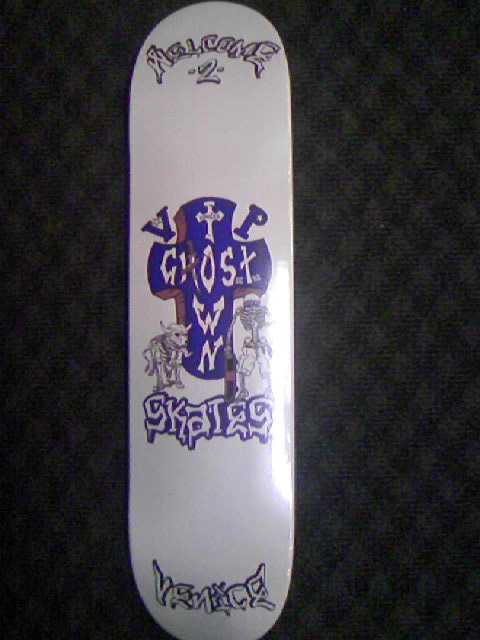 Ghost Town Skates 1st Deck 1