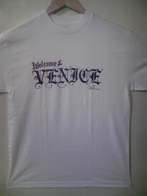 Welcome 2 Venice Logo T 3-1