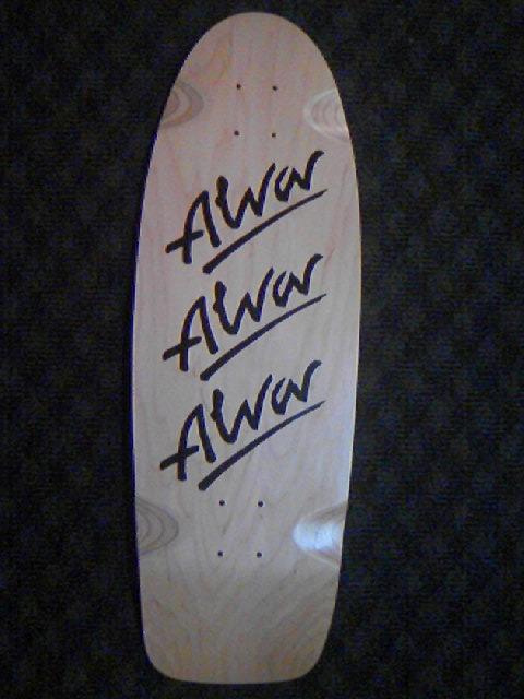 Alva Skates Tri-Logo Deck 5-1