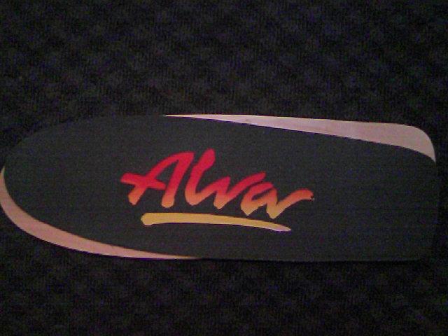 Alva Skates Tri-Logo Deck 5-2