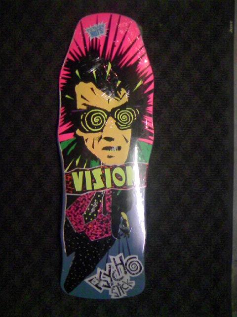 Vision Psycho Stick Deck 8-1