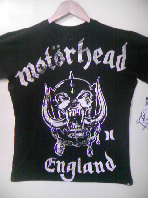 Hurley/Motorhead The Band T 2-1