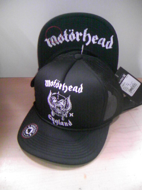Hurley/Motorhead The Bandメッシュキャップ 5