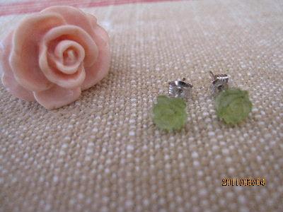 薔薇の指輪とピアス