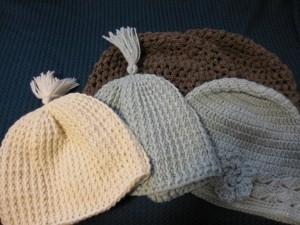 かぎ針帽子