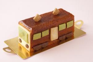 電車のケーキ トラン