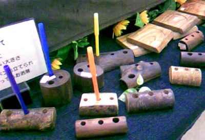 ゆめタウン久留米~展示会、木工品小物。