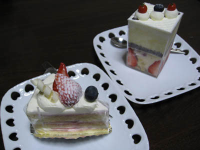 一善やケーキ1
