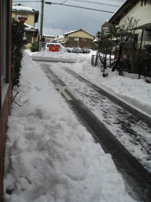 積雪2011