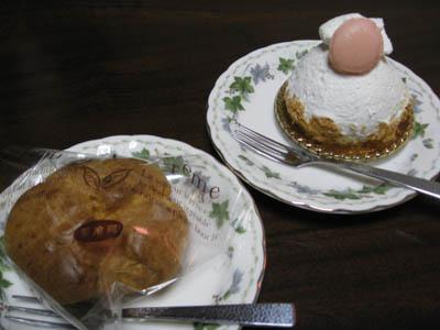 『デトゥール』のケーキ1