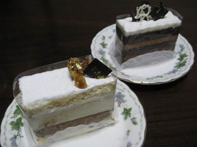 『デトゥール』のケーキ2