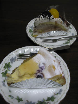 プチコパンのケーキ2