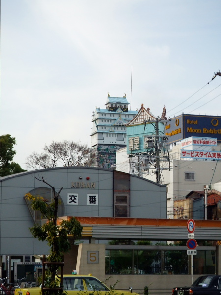 大阪城?101217