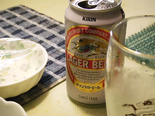 ビール100814