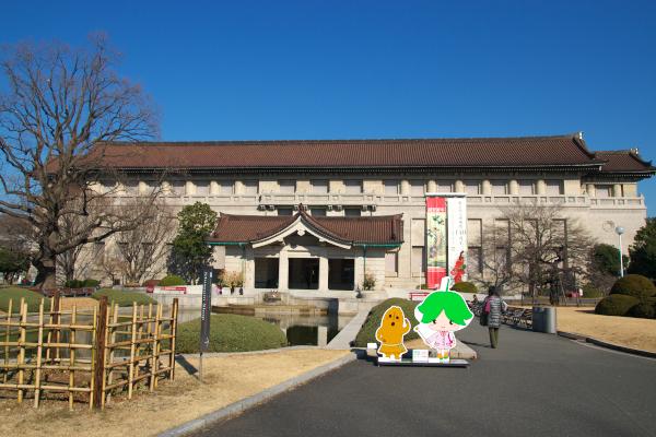 東京国立博物館120110