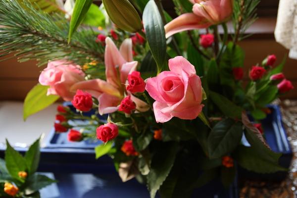 お正月の花101231