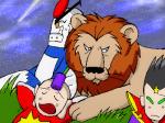 タイトルはMay'n/中島愛「ライオン」より拝借。「マクロスF(フロンティア)」OP。
