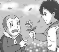 空気公団「青い花」(志村貴子「青い花」OP)を聞いたら描きたくなったん…だな。