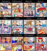 2010年を時事漫画で振り返ってみた…絵はまだまだ精進が必要である。