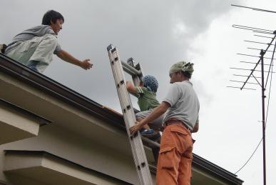 ソーラーパネル設置