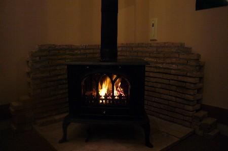 12月15日暖炉